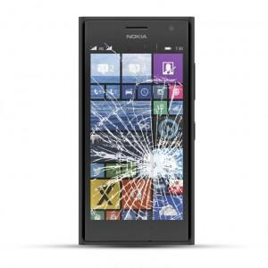 Nokia Lumia 730 Reparatur LCD Dispay Touchscreen Glas