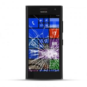 Nokia Lumia 735 Reparatur LCD Dispay Touchscreen Glas