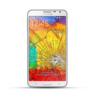 Samsung Note 3 Neo Reparatur LCD Display Touchscreen weiß