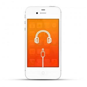 Apple iPhone 4 / 4s Reparatur Kopfhöreranschluss