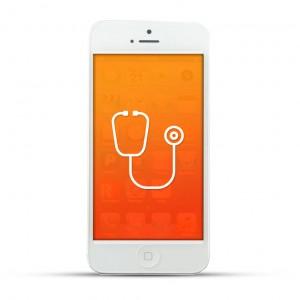 Apple iPhone 5 Reparatur Diagnose White