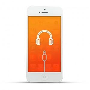 Apple iPhone 5 Reparatur Kopfhöreranschluss White