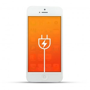 Apple iPhone 5 Reparatur USB Dock, Ladebuchse White