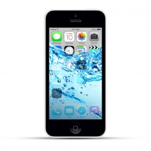 Apple iPhone 5c Reparatur Wasserschaden Behandlung White