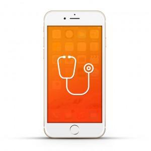 Apple iPhone 6 Reparatur Diagnose White