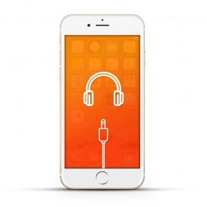 Apple iPhone 6 Reparatur Kopfhöreranschluss White