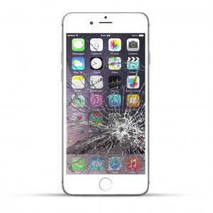 Apple iPhone 6 Plus Reparatur LCD Display Touchscreen Glas Weiss
