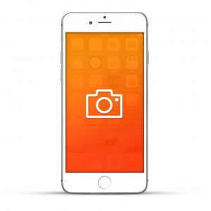 Apple iPhone 6 Plus Reparatur Kamera (Front / Back) Weiss