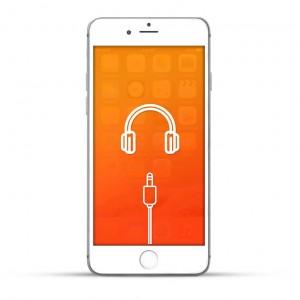 Apple iPhone 6 Plus Reparatur Kopfhöreranschluss Weiss