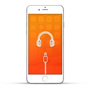 Apple iPhone 6s Plus Reparatur Kopfhöreranschluss Weiss