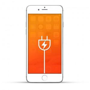 Apple iPhone 6s Plus Reparatur USB Dock / Ladebuchse Weiss