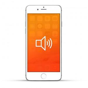 Apple iPhone 6s Plus Reparatur Lautsprecher Weiss