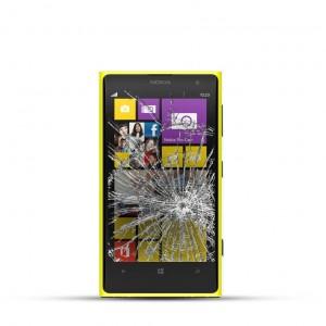 Nokia Lumia 1020 Reparatur LCD Dispay Touchscreen Glas