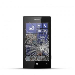 Nokia Lumia 520 Reparatur LCD Dispay Touchscreen Glas