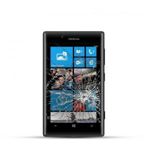 Nokia Lumia 720 Reparatur LCD Dispay Touchscreen Glas