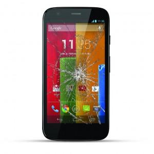 Motorola Moto G Reparatur LCD Display Touchscreen Glas