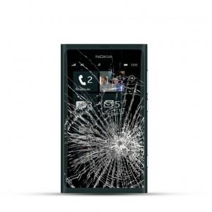 Nokia Lumia 800 Reparatur LCD Dispay Touchscreen Glas