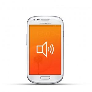 Samsung Galaxy S3 Mini Reparatur Lautsprecher Weiss