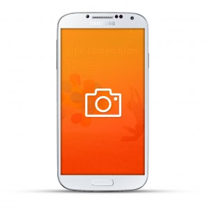 Samsung Galaxy S4 Reparatur Kamera White