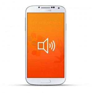 Samsung Galaxy S4 Reparatur Lautsprecher White