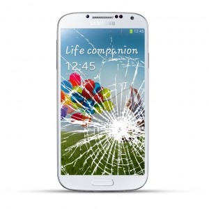 Samsung Galaxy S4 Active Reparatur LCD Dispay Touchscreen Glas White