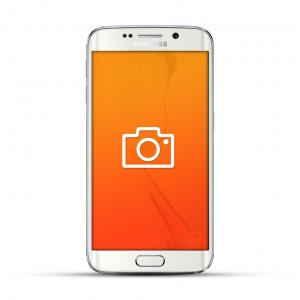 Samsung Galaxy S6 Edge Reparatur Kamera Weiss