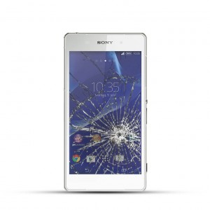 Sony Xperia Z1 Reparatur LCD Dispay Touchscreen Glas Weiss