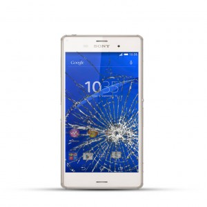 Sony Xperia Z3 Reparatur LCD Dispay Touchscreen Glas Weiss