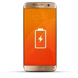 Samsung Galaxy S7 Reparatur Akku / Akkutausch gold