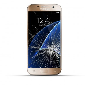 Samsung Galaxy S7 Reparatur Display Touchscreen gold