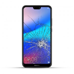 Huawei P20 Lite Reparatur Dispay Touchscreen Glas