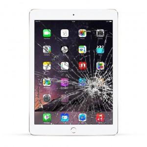 Apple iPad Air 2 Reparatur Display Touchscreen Glas weiß
