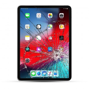 Apple iPad Pro 12.9 (2018) Reparatur Display Touchscreen Glas schwarz