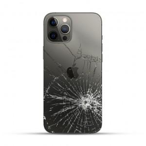 iPhone 12 & 12 mini & 12 Pro & 12 Pro Max Backcover Reparatur / Tausch / Wechsel schwarz