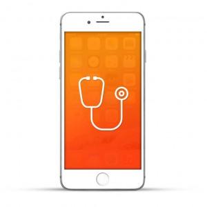 Apple iPhone 6 Plus Reparatur Diagnose Weiss