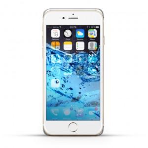 Apple iPhone 6s Plus Reparatur Wasserschaden Behandlung Weiss
