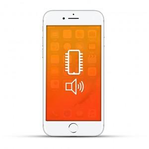 Apple iPhone 7 Reparatur Audio IC weiß