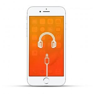 Apple iPhone 7 Reparatur Kopfhöreranschluss Weiss