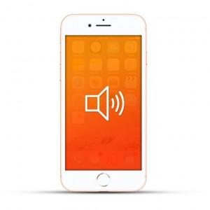 Apple iPhone 8 / 8 Plus Reparatur Lautsprecher Weiss