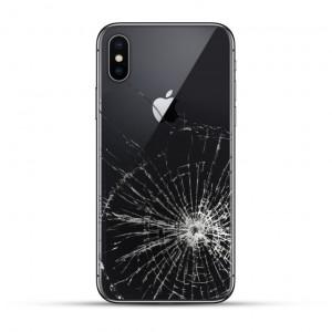 iPhone XS / XS MAX Backcover Reparatur / Tausch / Wechsel schwarz