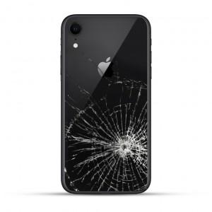 iPhone XR Backcover Reparatur / Tausch / Wechsel schwarz