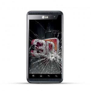 LG Optimus 3D Reparatur LCD Display Austausch