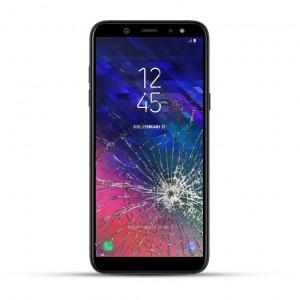 Samsung A6+ Reparatur LCD Dispay Touchscreen Glas