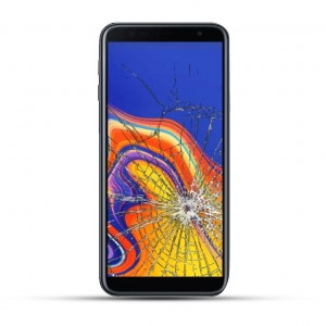 Samsung Galaxy J4 Plus Reparatur Display Touchscreen Glas schwarz
