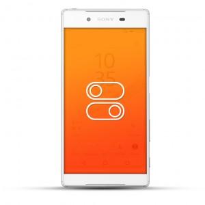 Sony Xperia Z5 Reparatur Schalter weiß