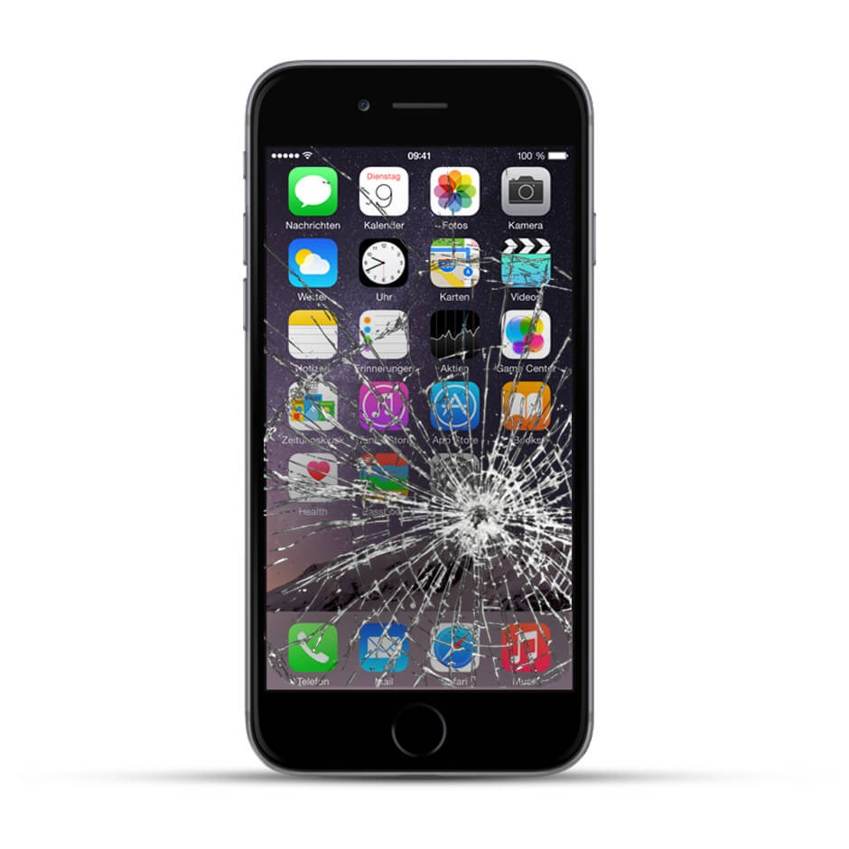 apple iphone 6 reparatur lcd display touchscreen glas service4handys. Black Bedroom Furniture Sets. Home Design Ideas