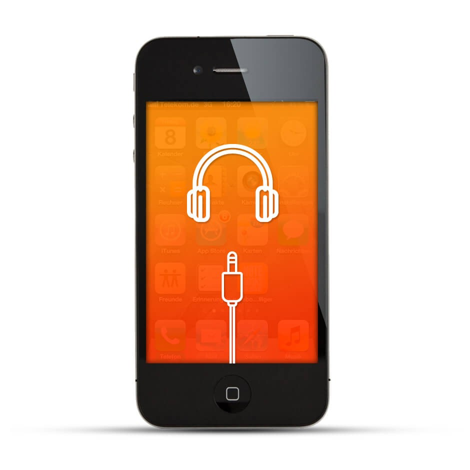 apple iphone 4 4s reparatur kopfh reranschluss. Black Bedroom Furniture Sets. Home Design Ideas