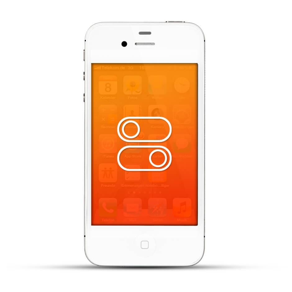 apple iphone 4 4s reparatur schalter service4handys. Black Bedroom Furniture Sets. Home Design Ideas