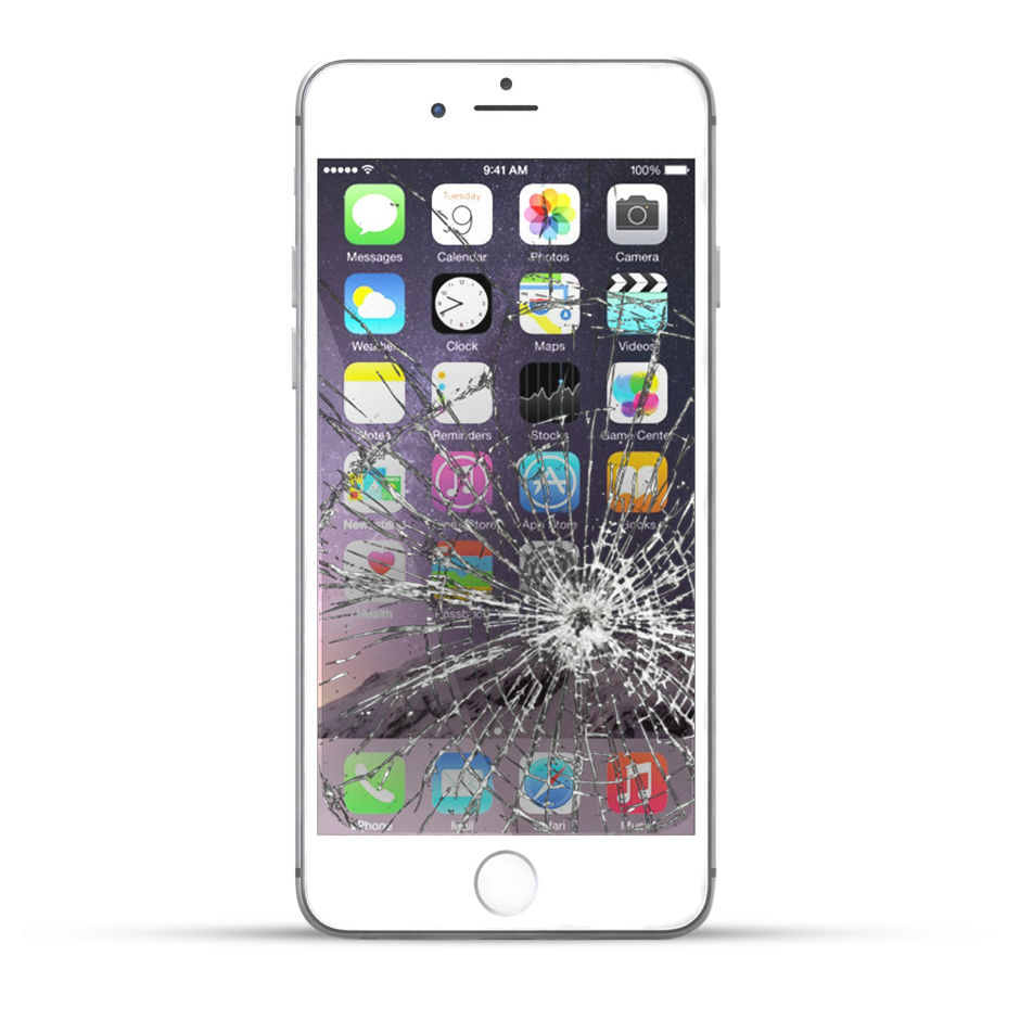 apple iphone 6 plus reparatur lcd display touchscreen glas service4handys. Black Bedroom Furniture Sets. Home Design Ideas